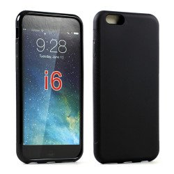 Apple iPhone 6 4.7 TPU Gel Case (Black)